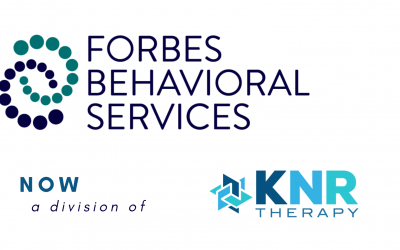 KNR Therapy Announces Merger with Florida-Based Forbes Behavioral Services